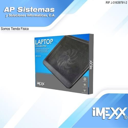 Base Enfriadora Imexx Para Portátil De Aluminio Ime-