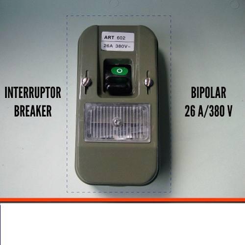 Interruptor Breaker Ticino 26a 380v