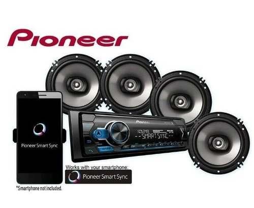 Reproductor Pioneer + 4 Cornetas(combo) +usb + Auxiliar