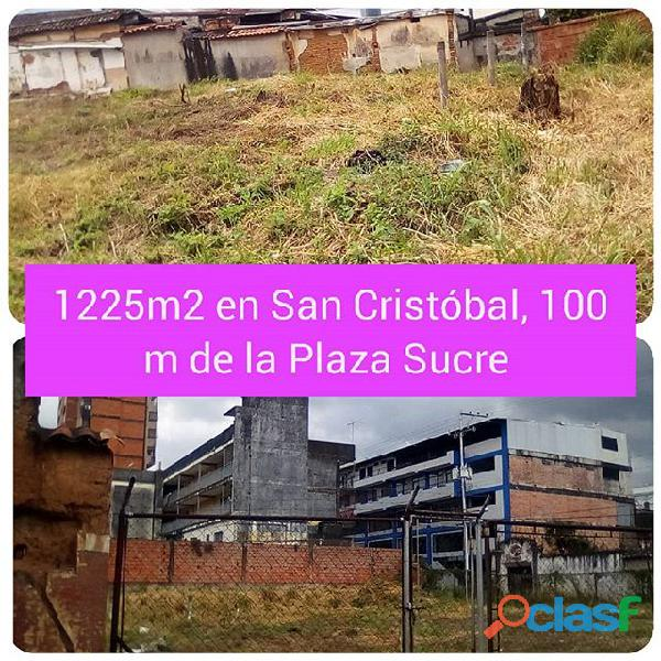 venta de terreno en San Cristóbal, Tàchira