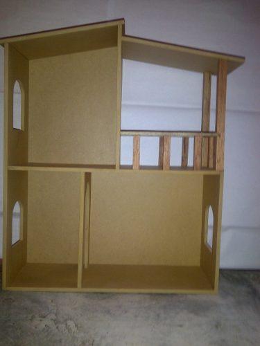 Casa De Muñecas Barbie En Mdf Crudo