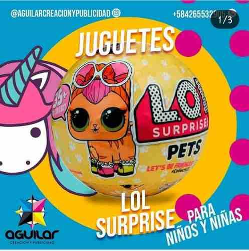 Lol Surprise Muñecas Lol Pets Lol Surprise