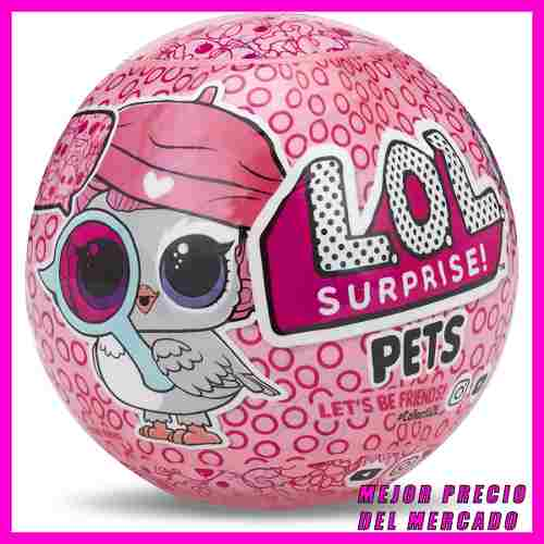 Lol Surprise Pets Original Eye Spy Mascota L.o.l. Muñecas
