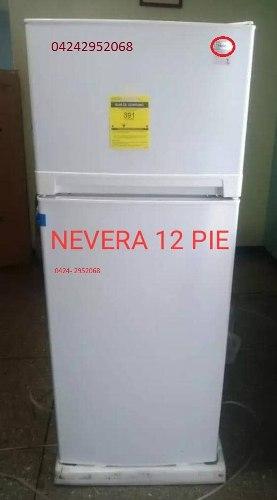 Nevera 12 Pies Blanca