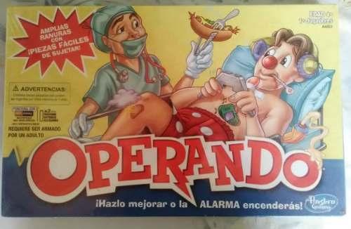 Juego Operando Hasbro Original Nuevo Sellado