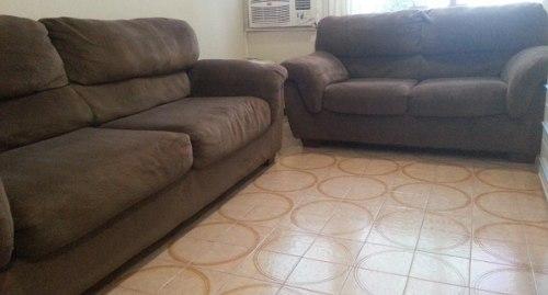 Juegos De Muebles. Sofa Para Sala Usados Color Marrón