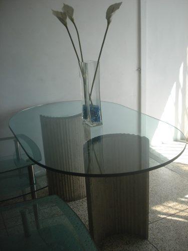 Mesa De Comedor Con Marmol 180