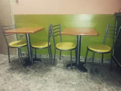 Mesa Y Sillas Para Cafeteria