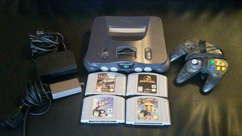 Nintendo 64 + 1 Control + 4 Juegos