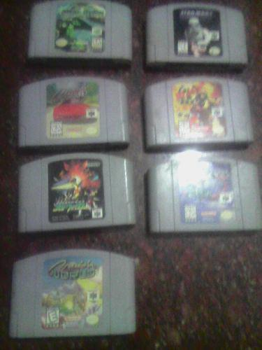 Se Vende Juegos De Nintendo 64