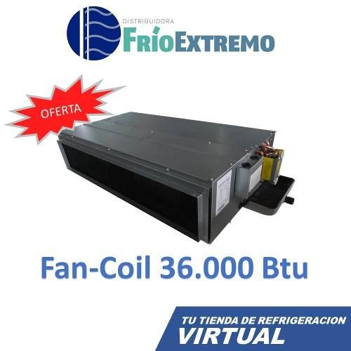 Aire Acondicionado Marca Green Fancoil Condensador  Btu