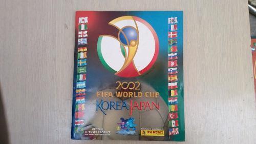 Album Mundial De Futbol Korea Japon  Panini Lleno