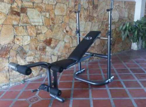 Banco De Pesas K6 Modelo Hebes Gym Gimnasio Ejercicio Usado