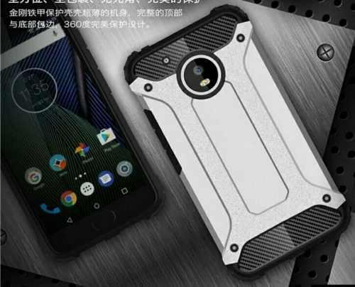 Forro Protector Antigolpe Spinge Para Motorola Moto E4