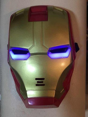 Máscara Iron Man Con Luces Led