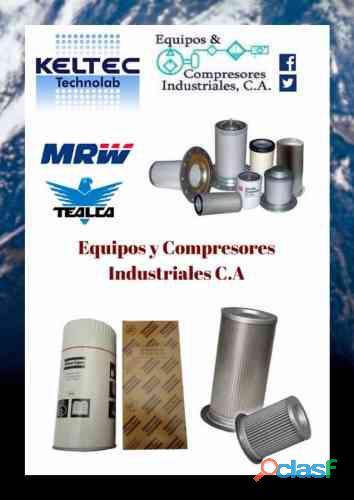 Venta de repuestos para compresores de aire comprimido