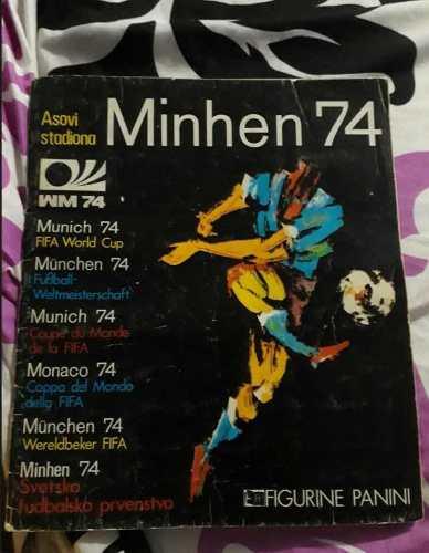 Álbum Panini Del Mundial De Alemania 74