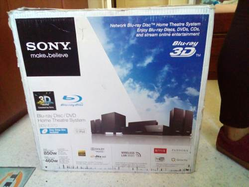 Blu Ray Sony 3d Con Home Theater 5.1