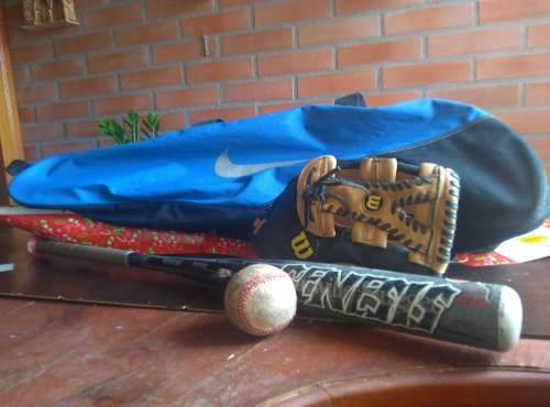 Bolso Batera Nike + Pelota De Beisbol