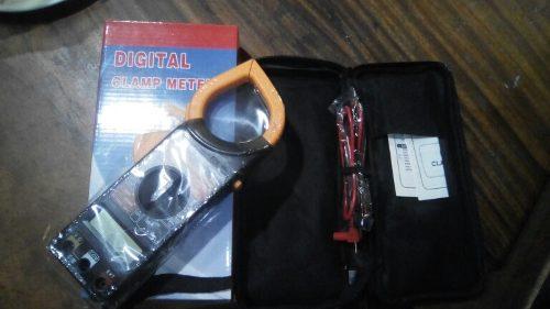 Digital Clamp Meter 266 Totalmente Nuevo En Caja Con Forro