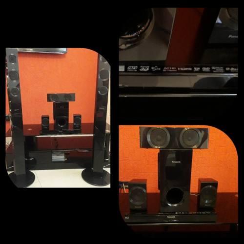Home Theater 5.1 - Blue Ray 3d. Marca Panasonic