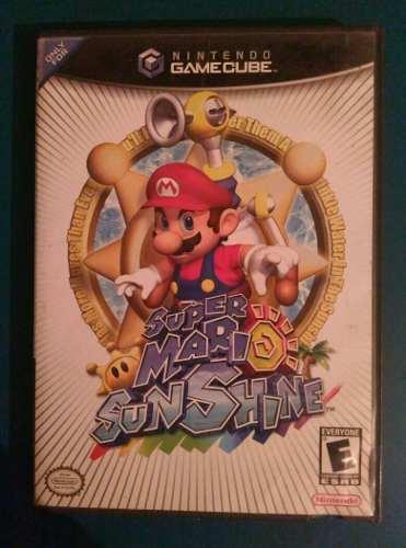 Juego Game Cube Super Mario Sun Shine