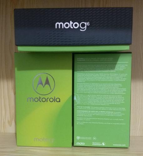 Motorola Moto G6 5,7 64gb 4gb Ram 4glte Oreo 245americanos