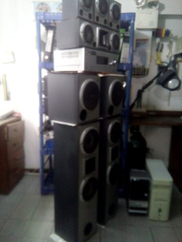 Planta De Sonido Home Theater Sony 8 Monitores D Sonido