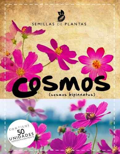 4sobres Semillas De Cosmos. Rosadas Y Amarillas