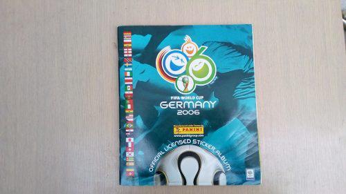 Album Mundial De Futbol Alemania 2006 Panini Lleno