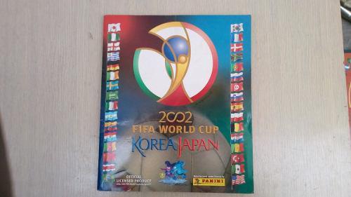Album Mundial De Futbol Korea Japon 2002 Panini Lleno
