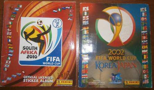 Albumes De Barajitas Panini Mundiales Y Eurocopas