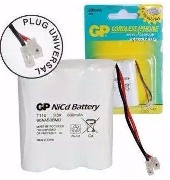 Bateria Telefono Inalambrico Gp-t110 De 600mah 3.6v