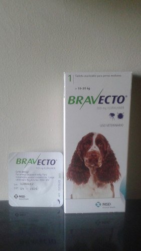 Bravecto 10 A 20 Kilos