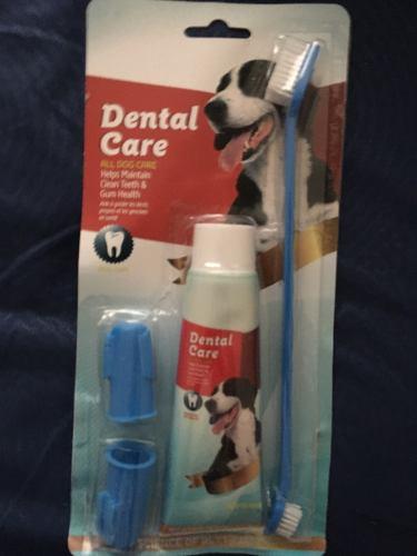 Crema Dental Para Perros Incluye Cepillos Al Mejor Precio