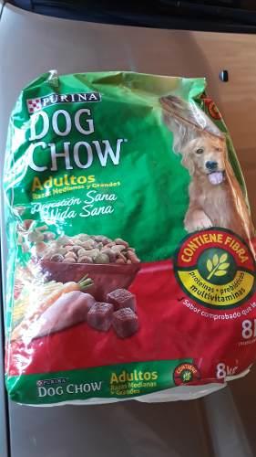 Dog Chow Alimento P Perros 8kg Y 4 Kg Favor Leer Descripcion