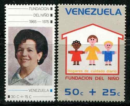 Estampillas Venezuela Año : Festival Del Niño