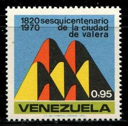 Estampillas Venezuela Año : Fundación De Valera