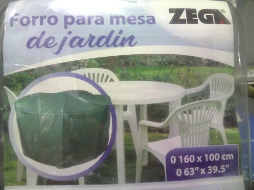 Forro Protector Para Mesa Y Sillas De Jardin Zega