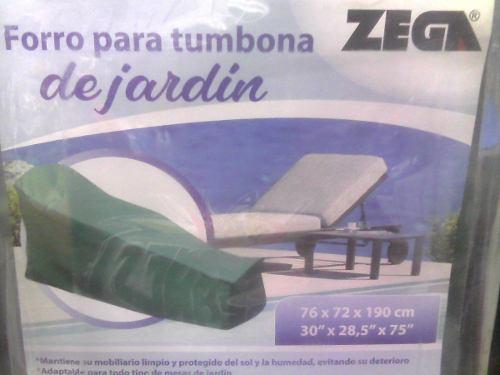 Forro Protector Para Tumbona De Jardin Zega