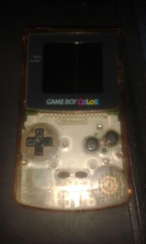 Game Boy Color Sin Tapa De Abajo