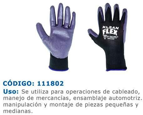 Guantes De Seguridad Polyester Con Capa De Nitrilo