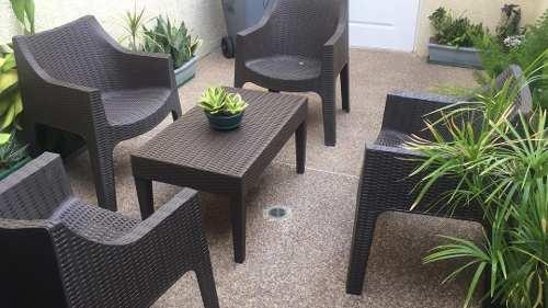 Juego De Muebles Para Jardín O Exteriores Nuevos