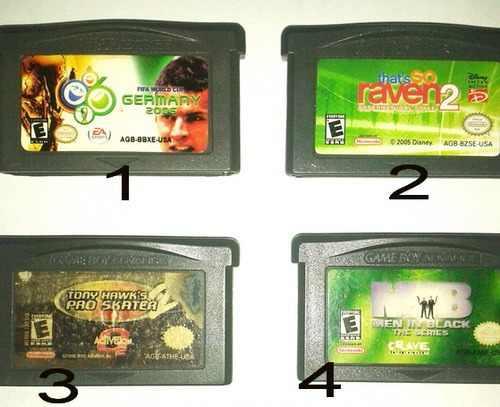 Juegos De Game Boy Advance Originales