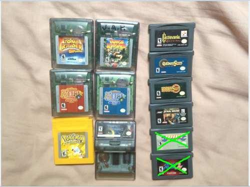 Juegos Game Boy Advance Y Color