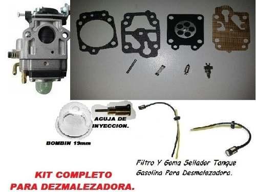 Kit De Carburador Completo Desmalezadora.