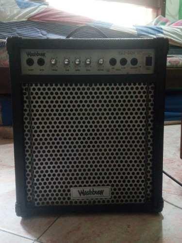 Rematooo!!! Amplificador Para Bajo Washburn Bad Dog De 43w