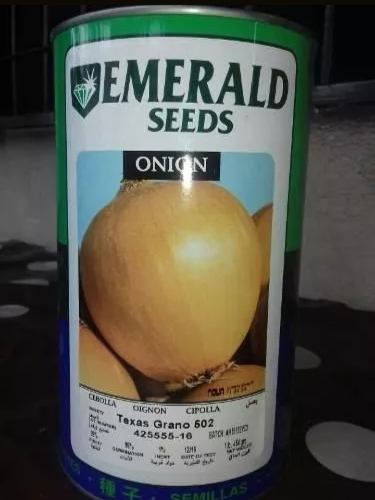 Semilla Cebolla Emerald 502 Texa Granos