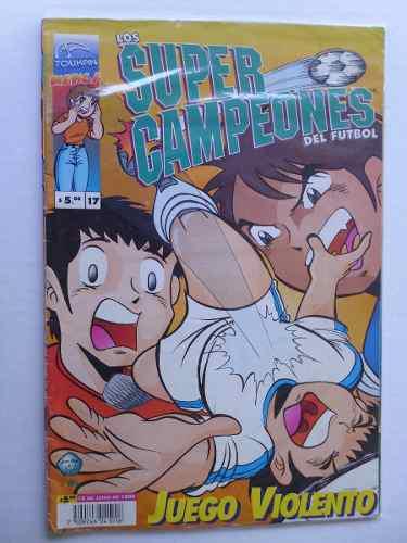 Super Campeones Del Futbol, Nro. 17 Comic Manga En Físico