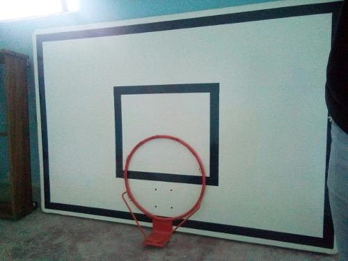 Tablero De Basket De Fibra De Vidrio Profecional